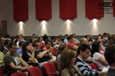 Залата по време на конференцията
