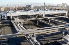 Система dry coolers върху покрива на сградата