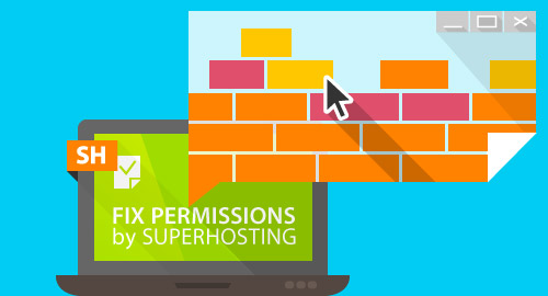 fix-permissions-by-superhosting