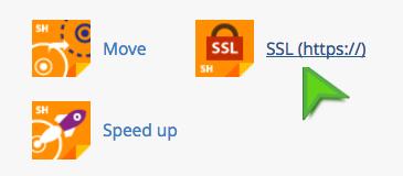 Instant SSL installation