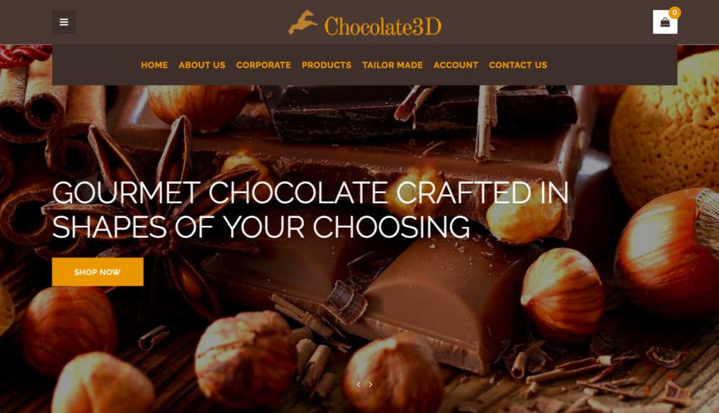 Детелин принтира 3D шоколад и внася повече сладост на всяко събитие. Вижте неговия сайт сега!