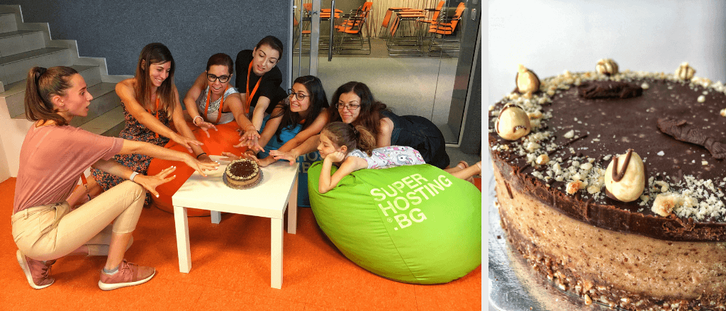 СуперЕкипа се наслаждава на суровите торти на RawCakes.bg