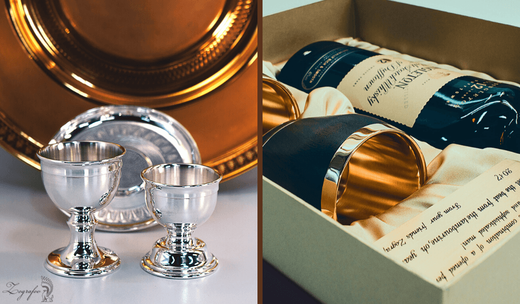 Луксозни чаши от Зографов и Син