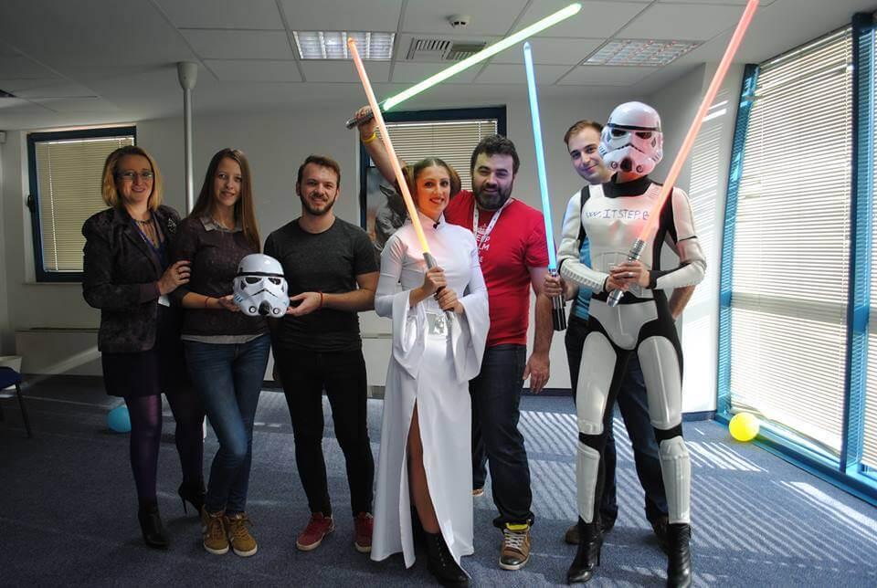 Веселата страна на екипа на IT Step