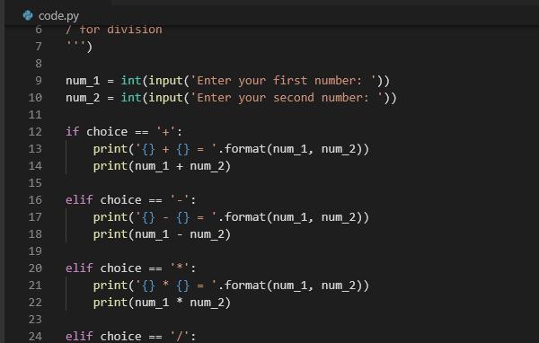 Код на Python.