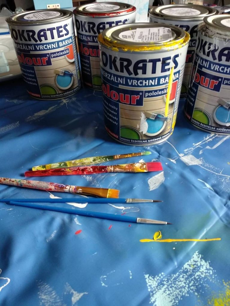 Бои за рисуване на бизиборд от liskotoys.com