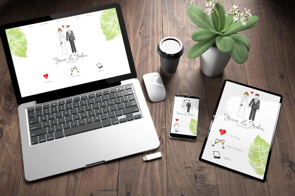 Перфектната покана за сватба под формата на сайт
